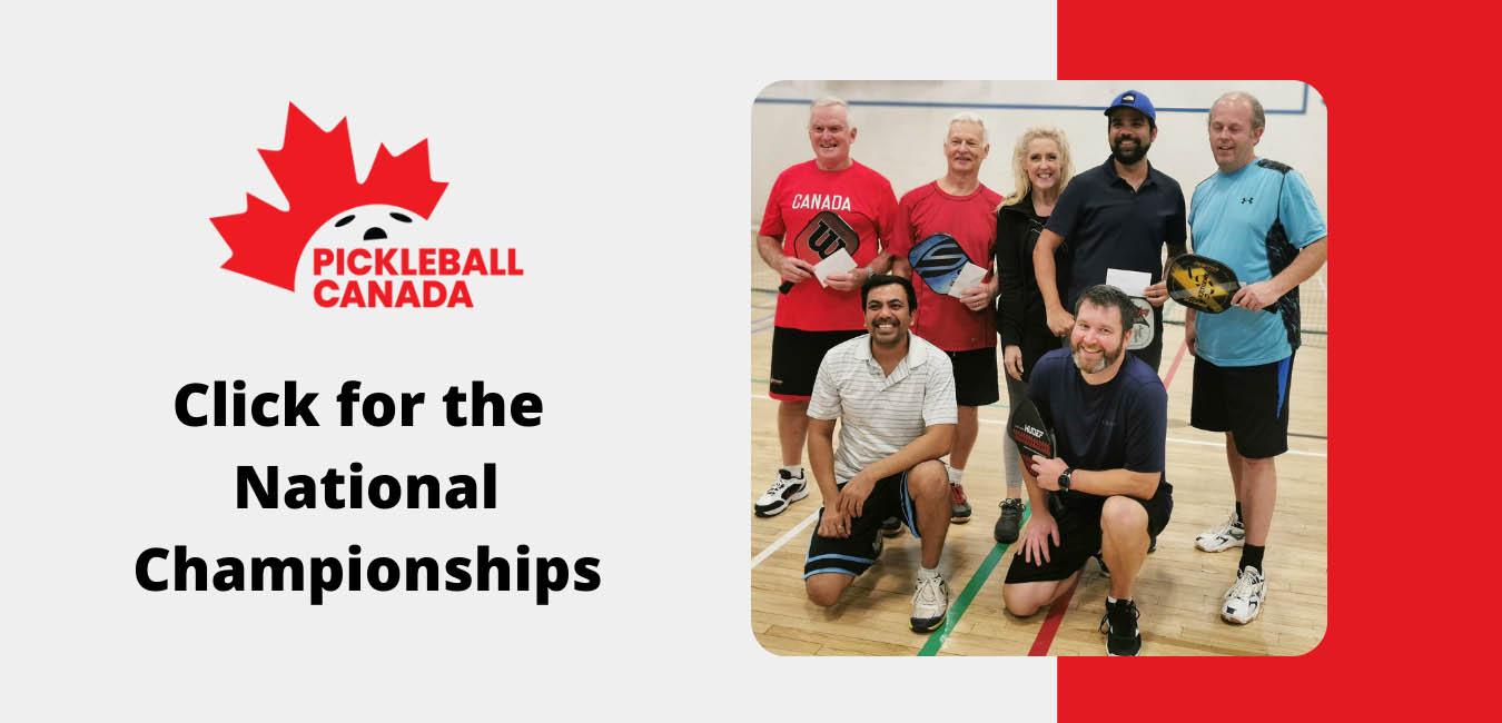 PICKLEBALL CANADA NATIONAL CHAMPIONSHIP 2021