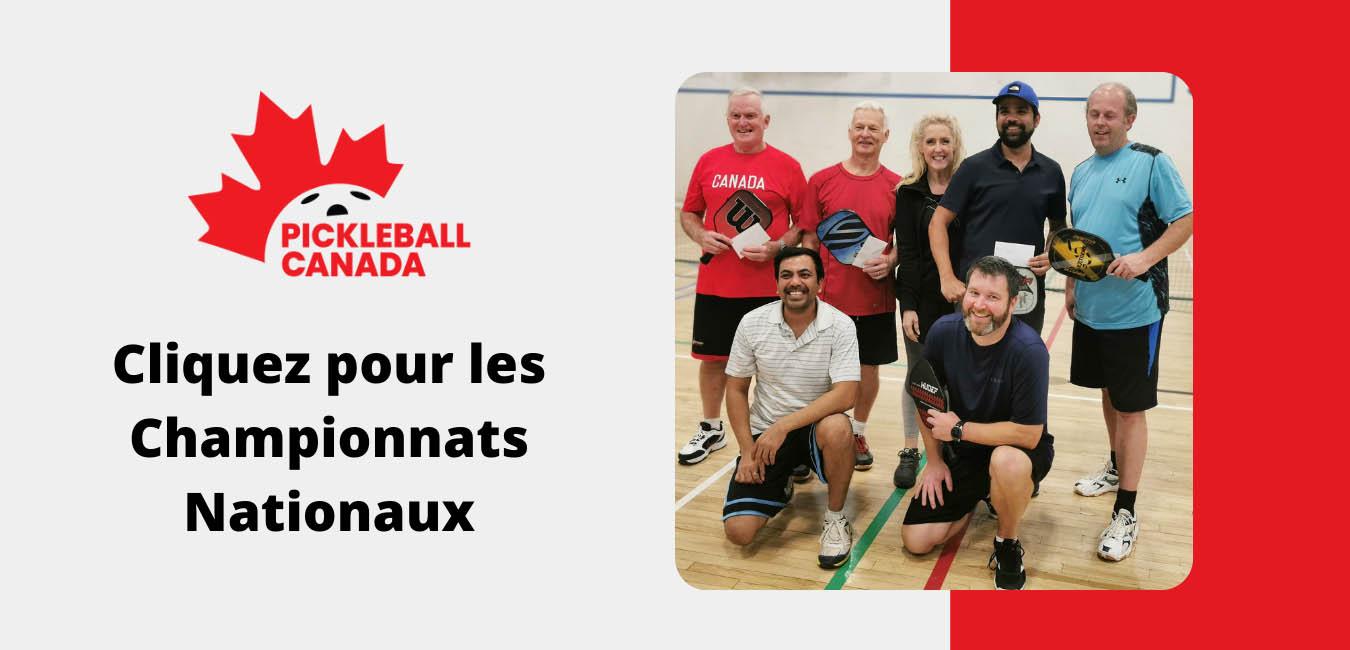 PICKLEBALL CANADA CHAMPIONNAT NATIONAUX 2021
