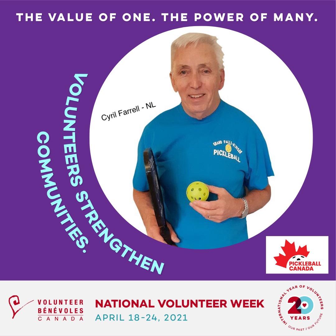 Volunteer Highlight - Cyril Farrell