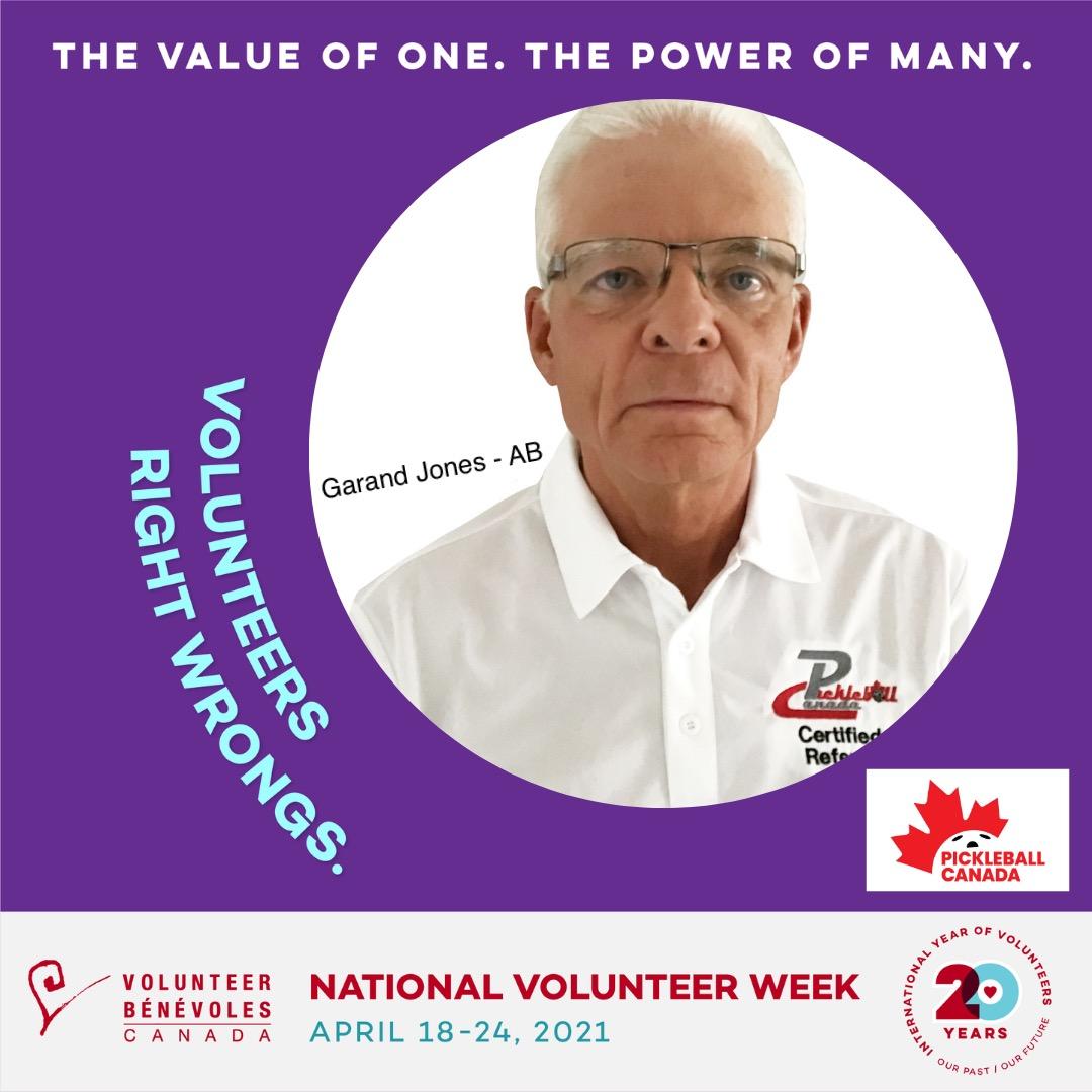 Volunteer Highlight - Garand Jones
