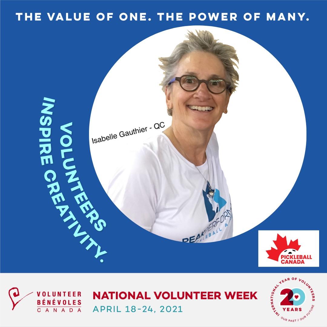 Volunteer Highlight - Isabell Gauthier