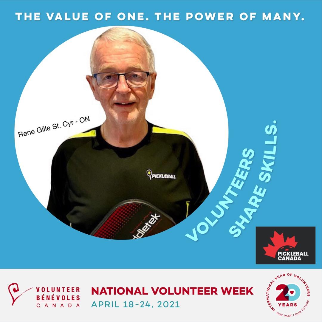 Volunteer Highlight - Rene Gille St. Cyr