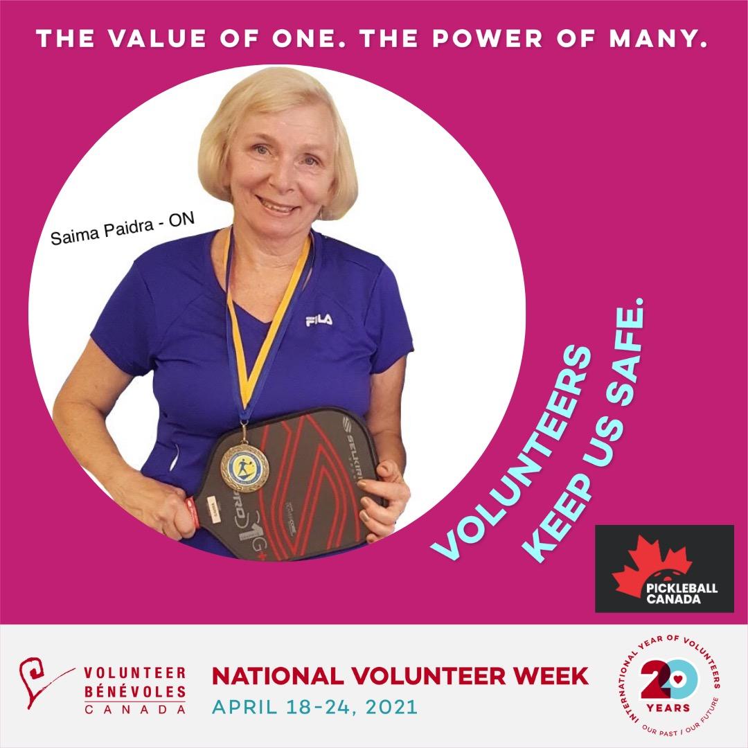 Volunteer Highlight - Saima Paidra