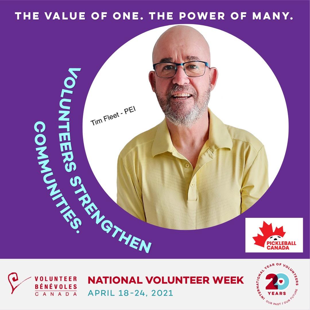 Volunteer Highlight - Tim Fleet